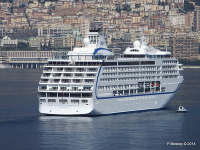 Regent SEVEN SEAS MARINER Approaching Monte Carlo 07-04-2014 09-23-26