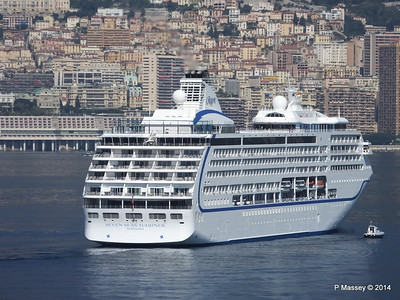 Regent SEVEN SEAS MARINER Approaching Monte Carlo 07-04-2014 09-23-22