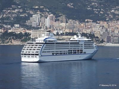 Regent SEVEN SEAS MARINER Approaching Monte Carlo 07-04-2014 09-26-27