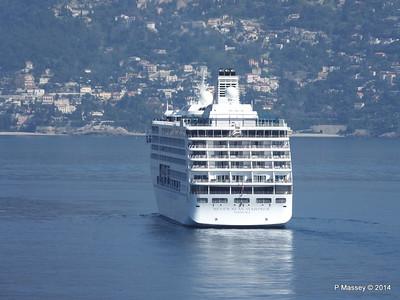 Regent SEVEN SEAS MARINER Approaching Monte Carlo 07-04-2014 09-19-00