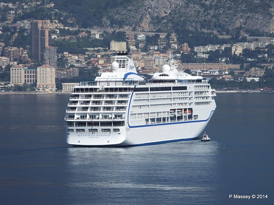Regent SEVEN SEAS MARINER Approaching Monte Carlo 07-04-2014 09-21-04