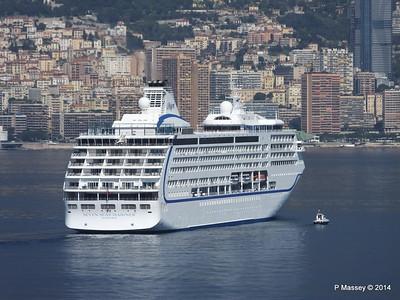 Regent SEVEN SEAS MARINER Approaching Monte Carlo 07-04-2014 09-22-59