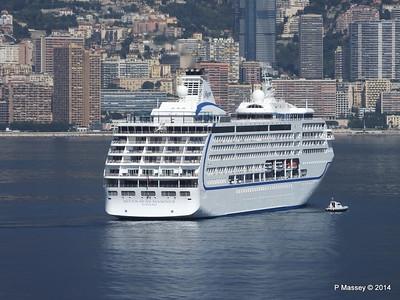 Regent SEVEN SEAS MARINER Approaching Monte Carlo 07-04-2014 09-22-38