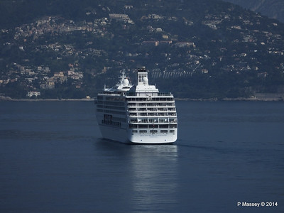 Regent SEVEN SEAS MARINER Approaching Monte Carlo 07-04-2014 09-18-46