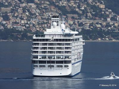 Regent SEVEN SEAS MARINER Approaching Monte Carlo 07-04-2014 09-19-43