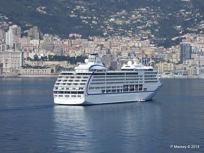 Regent SEVEN SEAS MARINER Approaching Monte Carlo 07-04-2014 09-25-42