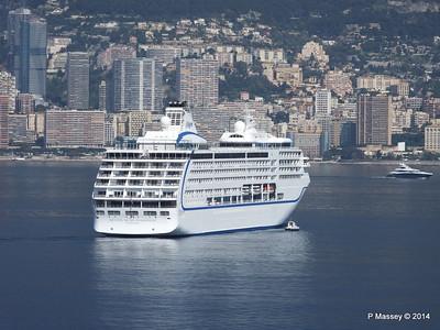 Regent SEVEN SEAS MARINER Approaching Monte Carlo 07-04-2014 09-22-06