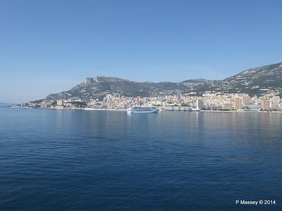 Regent SEVEN SEAS MARINER Approaching Monte Carlo 07-04-2014 09-39-21