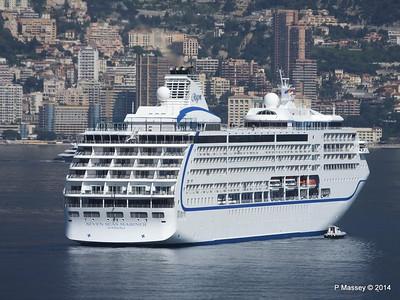 Regent SEVEN SEAS MARINER Approaching Monte Carlo 07-04-2014 09-21-32
