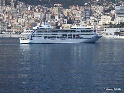 Regent SEVEN SEAS MARINER Approaching Monte Carlo 07-04-2014 09-37-09