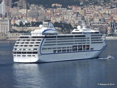 Regent SEVEN SEAS MARINER Approaching Monte Carlo 07-04-2014 09-25-58