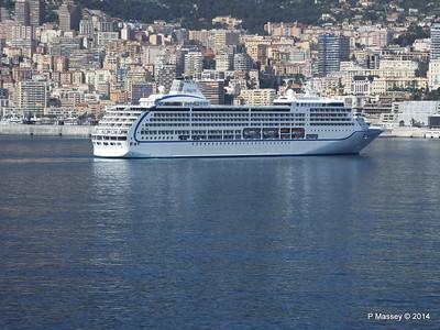 Regent SEVEN SEAS MARINER Approaching Monte Carlo 07-04-2014 09-37-06