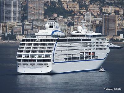 Regent SEVEN SEAS MARINER Approaching Monte Carlo 07-04-2014 09-21-57