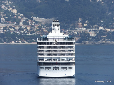 Regent SEVEN SEAS MARINER Approaching Monte Carlo 07-04-2014 09-19-22