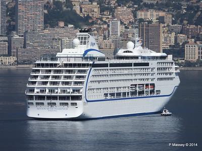 Regent SEVEN SEAS MARINER Approaching Monte Carlo 07-04-2014 09-21-50