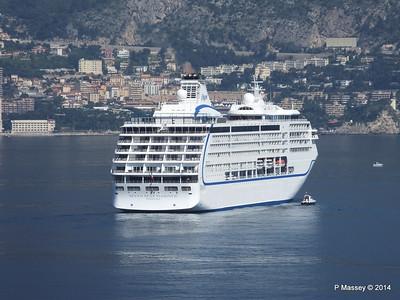 Regent SEVEN SEAS MARINER Approaching Monte Carlo 07-04-2014 09-20-51