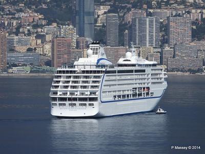 Regent SEVEN SEAS MARINER Approaching Monte Carlo 07-04-2014 09-22-26