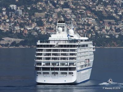 Regent SEVEN SEAS MARINER Approaching Monte Carlo 07-04-2014 09-19-50