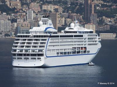 Regent SEVEN SEAS MARINER Approaching Monte Carlo 07-04-2014 09-21-37