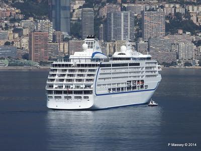 Regent SEVEN SEAS MARINER Approaching Monte Carlo 07-04-2014 09-22-21