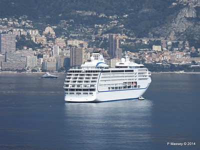 Regent SEVEN SEAS MARINER Approaching Monte Carlo 07-04-2014 09-21-27