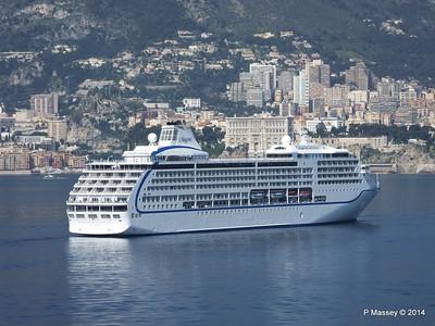 Regent SEVEN SEAS MARINER Approaching Monte Carlo 07-04-2014 09-27-04