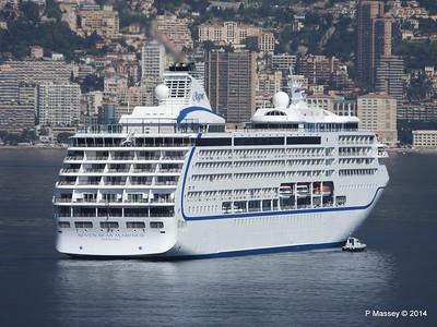 Regent SEVEN SEAS MARINER Approaching Monte Carlo 07-04-2014 09-21-40