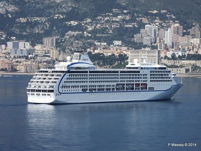 Regent SEVEN SEAS MARINER Approaching Monte Carlo 07-04-2014 09-27-25