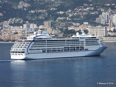 Regent SEVEN SEAS MARINER Approaching Monte Carlo 07-04-2014 09-27-57