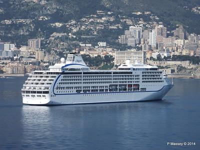 Regent SEVEN SEAS MARINER Approaching Monte Carlo 07-04-2014 09-27-19