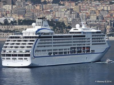 Regent SEVEN SEAS MARINER Approaching Monte Carlo 07-04-2014 09-25-55