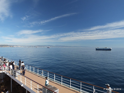 Approaching Barcelona from MSC SINFONIA PDM 06-04-2014 09-53-27