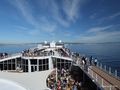 Approaching Barcelona over MSC SINFONIA PDM 06-04-2014 09-53-45