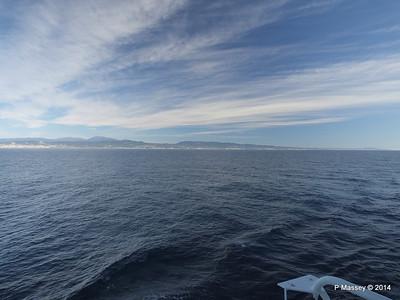 Spanish Coastline from MSC SINFONIA PDM 06-04-2014 08-35-08