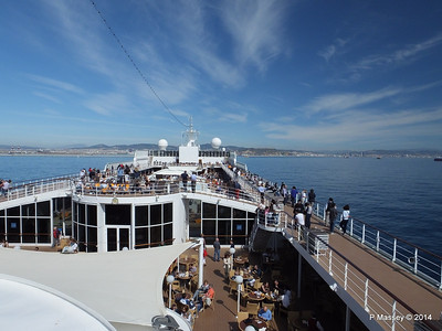 Approaching Barcelona over MSC SINFONIA PDM 06-04-2014 09-54-25
