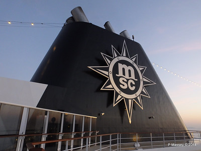 Funnel & Mast MSC SINFONIA Apr 2014