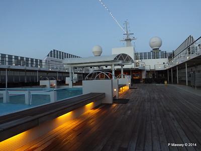 Stage & Capri Bar fwd of Pools Deck 11 MSC SINFONIA PDM 06-04-2014 05-17-05