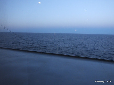 Early Morning view from Sun Deck 13 fwd MSC SINFONIA PDM 06-04-2014 05-20-00