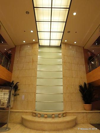 Reception Atrium Waterfall MSC SINFONIA PDM 07-04-2014 05-27-29
