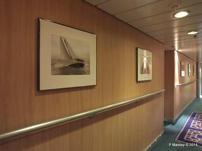 Hallway Deck 10 Stb aft MSC SINFONIA PDM 07-04-2014 06-27-12
