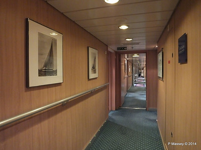 Hallway Deck 10 Stb aft MSC SINFONIA PDM 07-04-2014 06-28-26