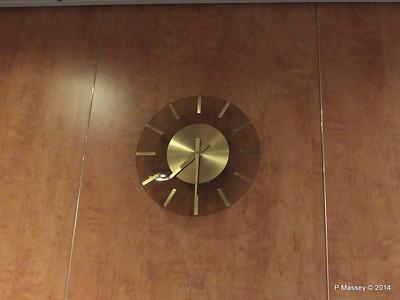 Hallway Clock Deck 7 Stairwell fwd MSC SINFONIA PDM 06-04-2014 05-30-27