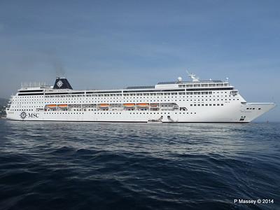 MSC SINFONIA Monaco from Tender 07-04-2014 15-12-16