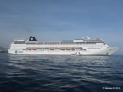 MSC SINFONIA 5 - 8 Apr 2014
