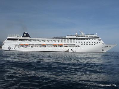 MSC SINFONIA Monaco from Tender 07-04-2014 15-12-21