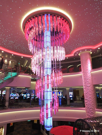 678 Ocean Place Cascading LED Chandelier NORWEGIAN GETAWAY PDM 13-01-2014 16-10-46