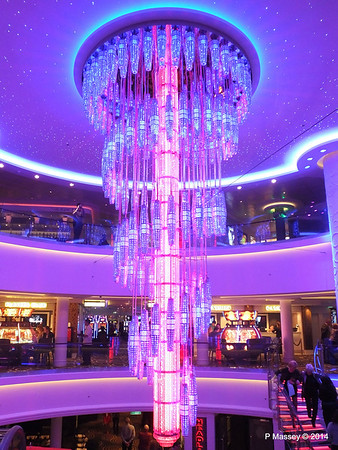 678 Ocean Place Cascading LED Chandelier NORWEGIAN GETAWAY PDM 14-01-2014 22-51-03