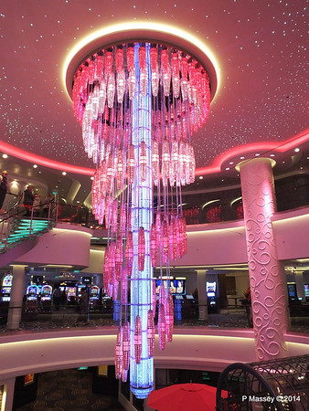 678 Ocean Place Cascading LED Chandelier NORWEGIAN GETAWAY PDM 13-01-2014 16-10-43