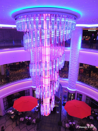 678 Ocean Place Cascading LED Chandelier NORWEGIAN GETAWAY PDM 14-01-2014 22-52-49