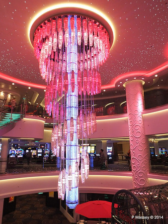 678 Ocean Place Cascading LED Chandelier NORWEGIAN GETAWAY PDM 13-01-2014 16-10-37
